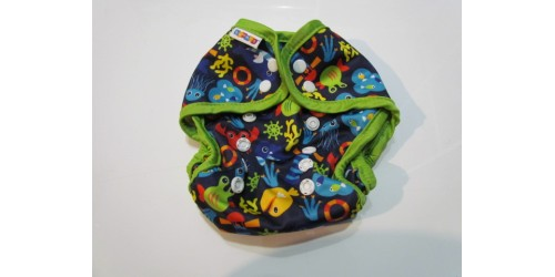 Couche de piscine bummis one size- Fond marin