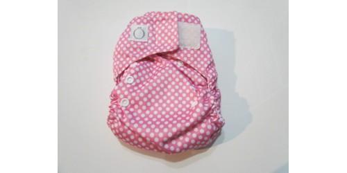 Omaiki nouvelle génération- Picot rose-à poche- Velcro- Utilisé quelques fois