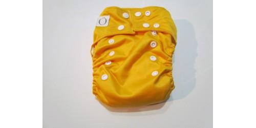 Omaiki nouvelle génération- Jaune orange tout-en-un-snap- Petit accro sur le pul extérieur, ne dérange pas