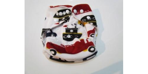 Couche Alva- Auto en minky
