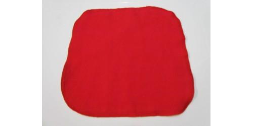 Lingette Bébé Nana- Petit 6x6- Rouge