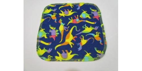 Lingette Bébé Nana- Petit 6x6- Dino multicolor