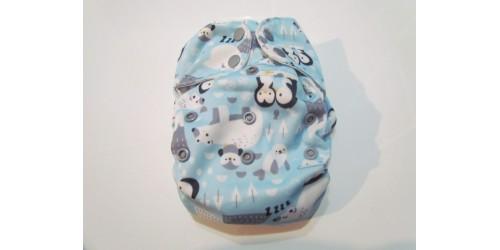Couche Tout-en-1 blueberry simplex- Pingouin