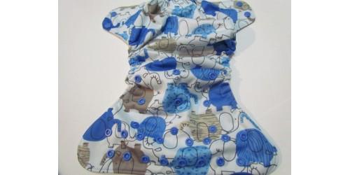 Blueberry-Éléphant bleu-snap