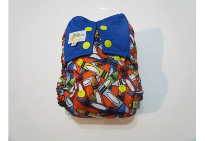 Couche nouveau-né à poche- Crayon- 5-15 livres