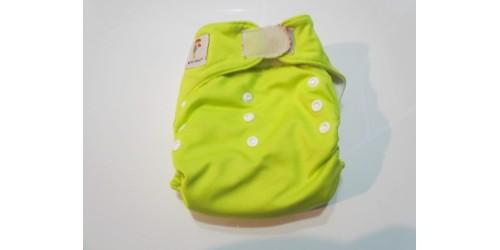 Kawaii baby-Vert fluo-velcro