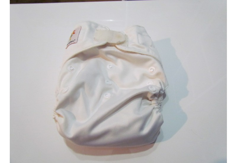 Kawaii baby-Blanc-velcro
