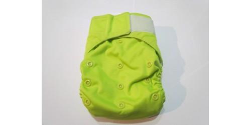 Bic et Biquette à POCHE- Vert pomme- Velcro- Peu utilisé