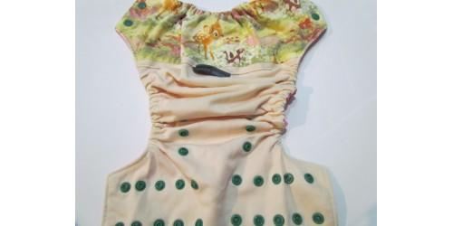 Couche EBB- Wrap en coton- Bambi