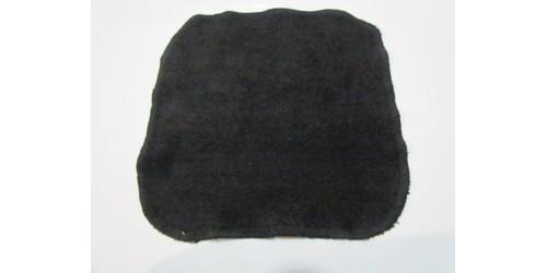 Lingette Bébé Nana- 9x9- Noir- En ratine de BAMBOU