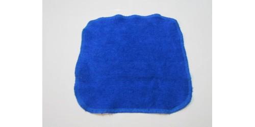 Lingette Bébé Nana- 9x9- Bleu royal- En ratine de BAMBOU
