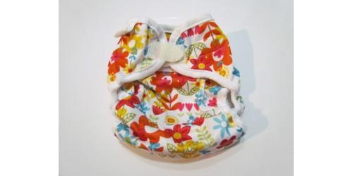 Couvre-couche Bummis Medium 15-30lbs- Fleur
