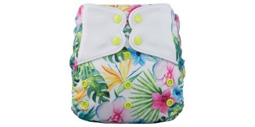 Elf diaper- Couche à poche-Ensemble de luxe- Paradis-snap