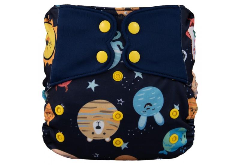 Elf diaper- Couche à poche-Ensemble de luxe- Space-snap