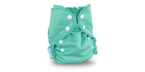 Couche à poche AMP One size Duo- Tahiti Green