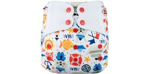 Elf diaper- Couvre-couche (TE2)- Little sailor-snap
