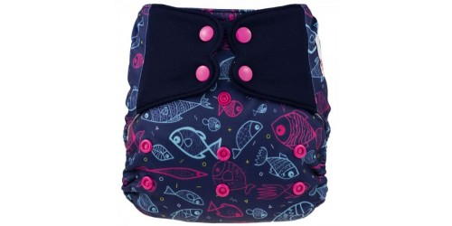 Elf diaper- Couvre-couche (TE2)- Charlotte-snap