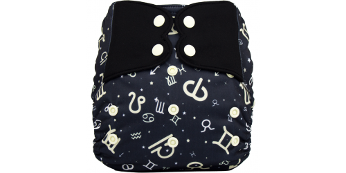 Elf diaper- Couche à poche-Ensemble de luxe- horoscope-snap