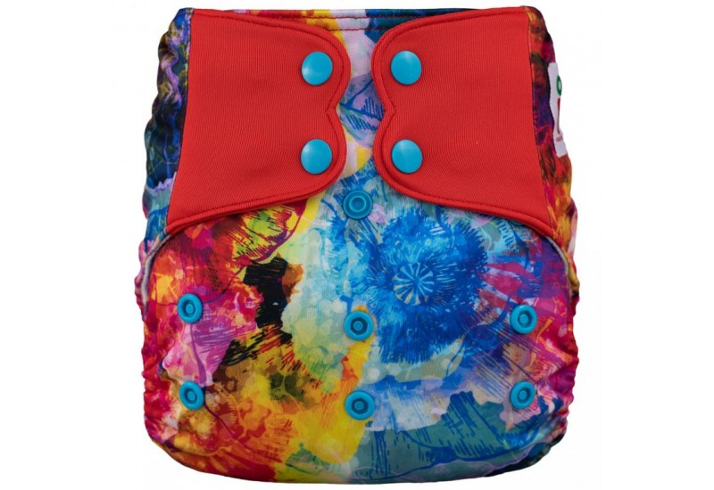 Elf diaper- Couche à poche-Ensemble de luxe- Reef-snap