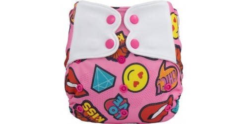 Elf diaper- Couche à poche- smile-snap