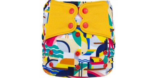 Elf diaper- Couche à poche-Ensemble de luxe- Toucan-snap