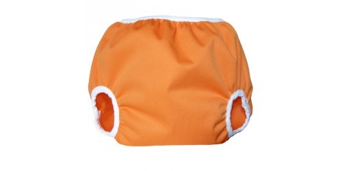 Couvre-couche Pull-on large- Tangerine