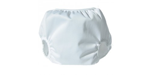 Couvre-couche Pull-on Medium- Blanc