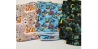 Choix de pantalon Bébé Nana- PLUS DE 200 CHOIX DE TISSUS-6-36 mois, 0-9 mois- PROMOTION JUILLET