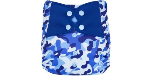 Elf diaper- Couvre-couche (TE2)- Kamo bleu-snap